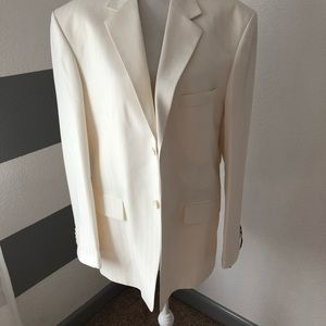 Other - European style white suit